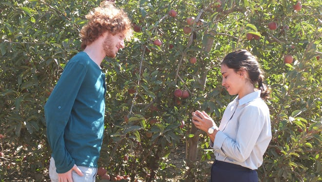 """Apples from the Desert"" starring Elisha Banai and Moran Rosenblatt (right), centers on a young Orthodox Jewish girl who starts to explore the secular world. It is one of the films featured at the 2016 Greater Phoenix Jewish Film Festival."