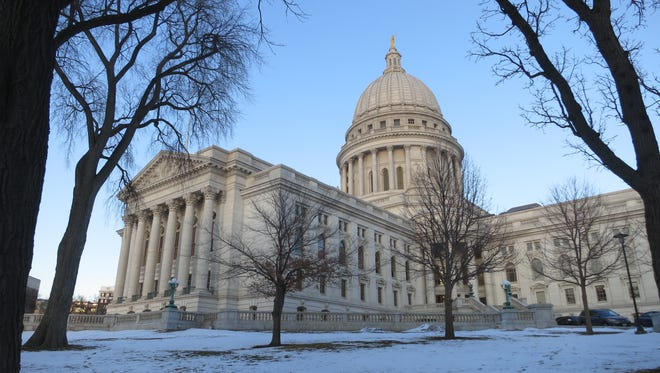 The Wisconsin State Capitol.