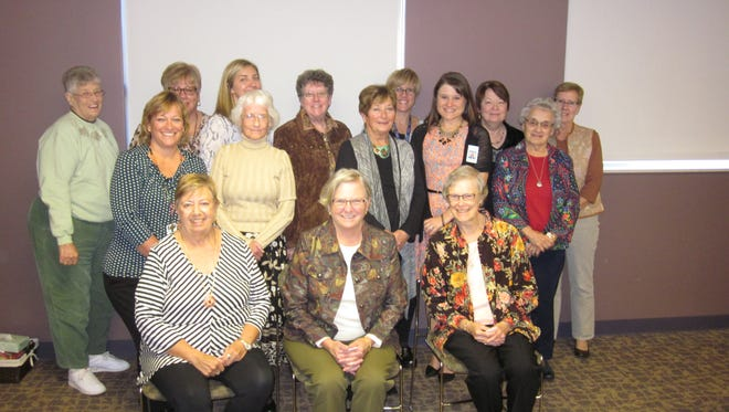 Members of the Magruder Hospital Auxiliary were recently honored for their service at the hospital.