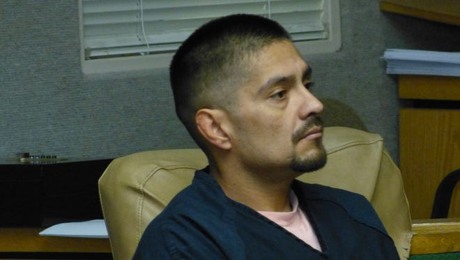 Juan Manuel Venegas is shown Tuesday in Shasta County Superior Court.