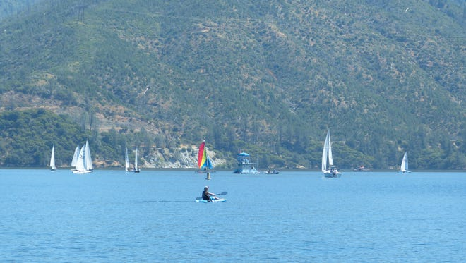 The Whiskeytown Sailing Club held its 53rd annual Memorial Regatta on Saturday at Whiskeytown Lake.