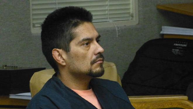 Murder defendant Juan Manuel Venegas was back in court Wednesday to set an Oct. 24 retrial date.