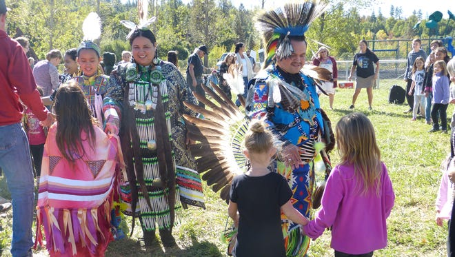 Montgomery Creek Elementary School celebrated its first Indigenous Peoples Day Monday.