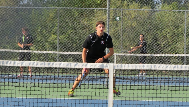 Pinckney's Adam Caplin is one of the top candidates for Boys Tennis Player of the Year this season.