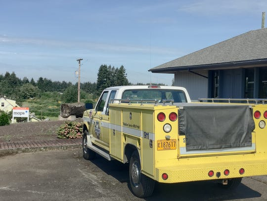 Stayton Fire District will be holding a practice burn