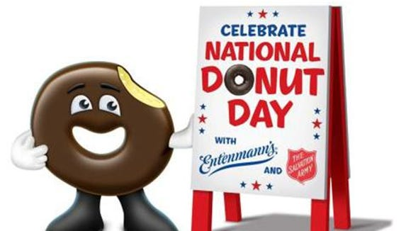 National Donut Day is an Entenmann's, Salvation Army tradition.