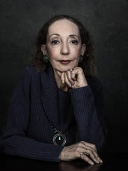 Author Joyce Carol Oates.
