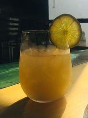 Ellison Brewery + Spirits' Cider Dark and Stormy.