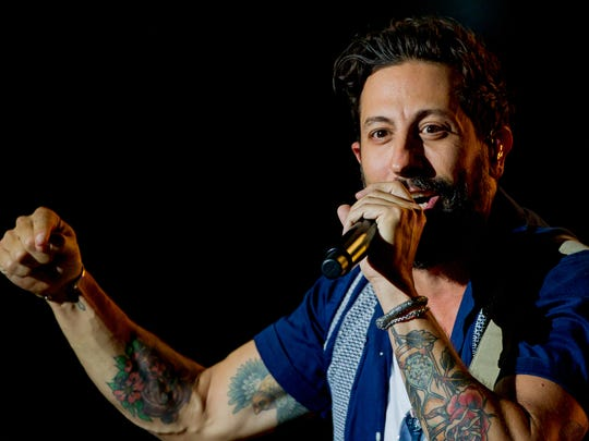 Matthew Ramsey, lead vocalist for the band Old Dominion,