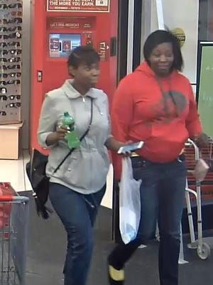 The West Des Moines Police Department is looking for three women and a man in connection with a stolen credit card investigation.
