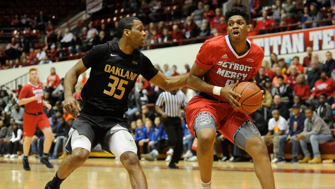 Kameron Chatman played one season at Detroit Mercy after transferring from Michigan.