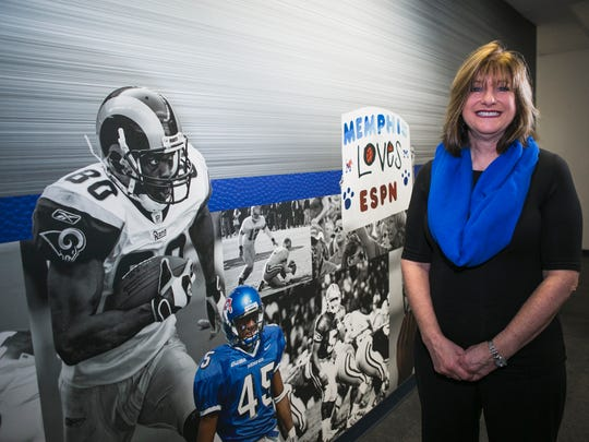 December 13, 2016 - Sherri Schwartz is the assistant to the University of Memphis head football coach Mike Norvell. She's one of the people that make up the backbone of the program.