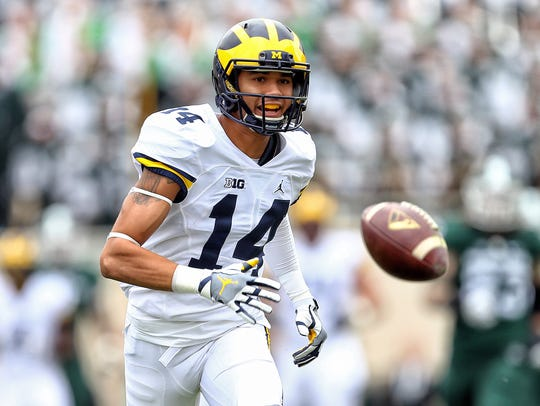 Former Michigan Wolverines wide receiver Drake Harris