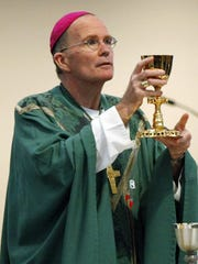 Bishop David O'Connell of the Trenton Diocese in this