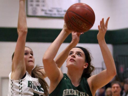 Greenfield Girls Basketball at West Allis Hale