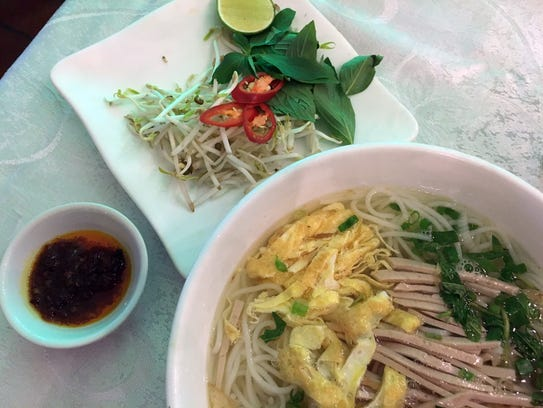 Pho – a soothing and spicy mix of meat, noodles, broth