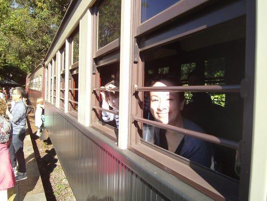 Riding the Kuranda Scenic Railway is the perfect family