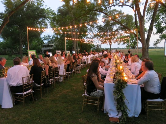 The Aioli Dinner Supper Club was Saturday at Frierson