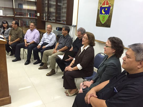 Members of the newly formed Archdiocesan Finance Council