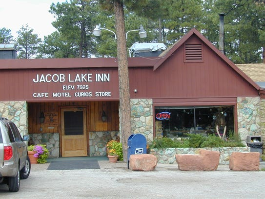 Jacob Lake Inn.