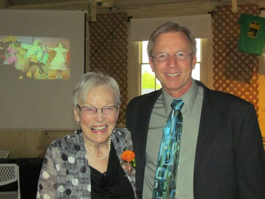 Phyllis Quanbeck and Tom Hewitt at a Night Out With