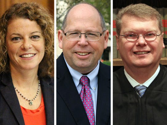 Wisconsin Supreme Court candidates, from left: Rebecca