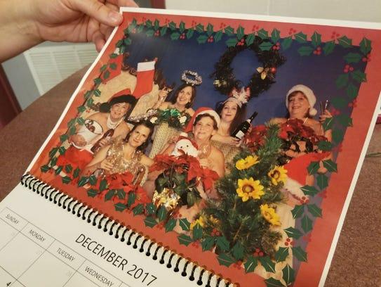 """A nude calendar featuring actors from """"Calendar Girls"""""""