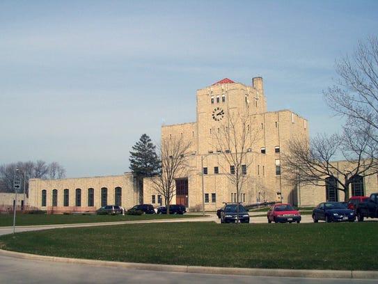 Milwaukee's Linnwood Water Treatment Plant on the Lake Michigan shoreline.