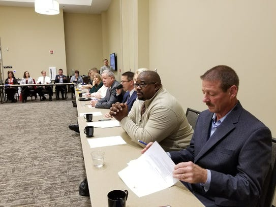 Nearly 40 Sandusky County business and school leaders