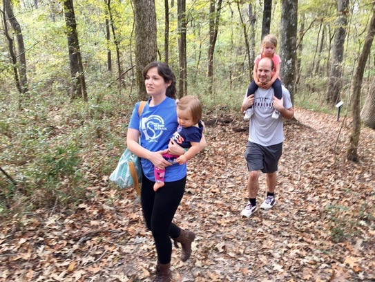 Trails extend throughout Chicot State Park and the