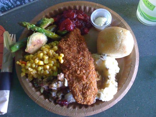 ThanksLIVING vegan dinner at Green New American Vegetarian