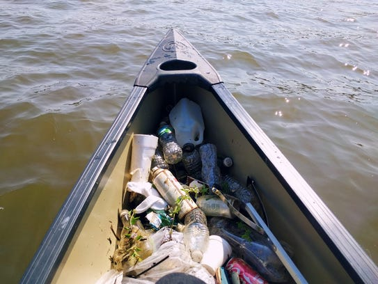 A look at the garbage that Lower Raritan Watershed