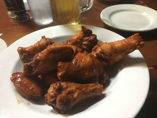Costa Seafood and Grill's chicken wings were on special