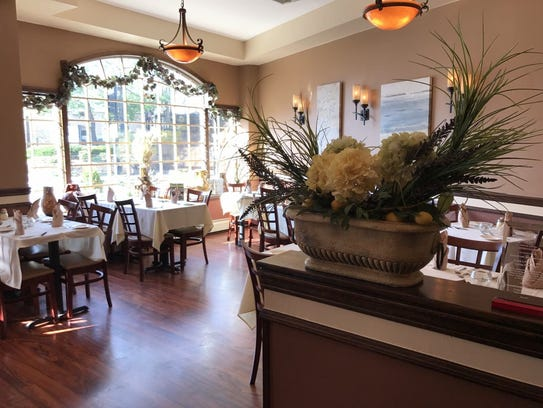 The dining room at Ralph's in Nutley