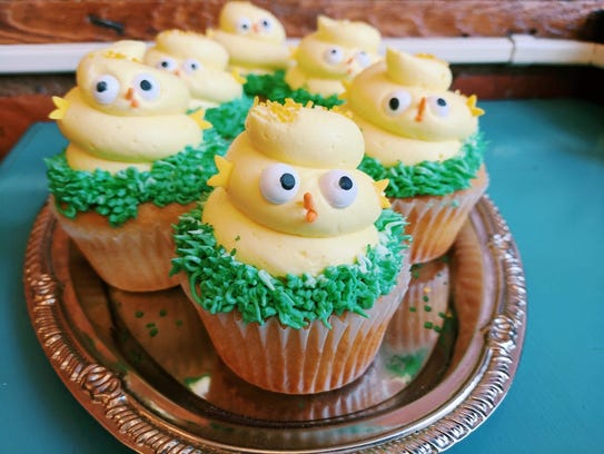 Poppleton Bakery serves up Easter Chick Cupcakes and