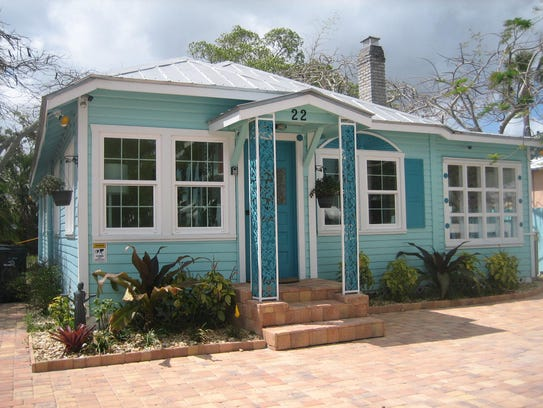 This cottage at 22 Seminole St. is among Stuart's treasured