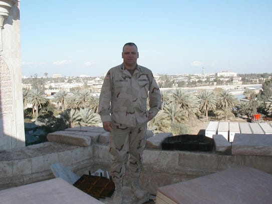 Army National Guard Captain Raymond Hill II