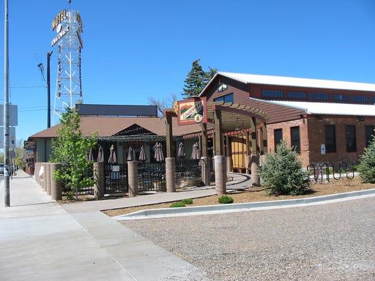 Lumberyard Brewery in Flagstaff.