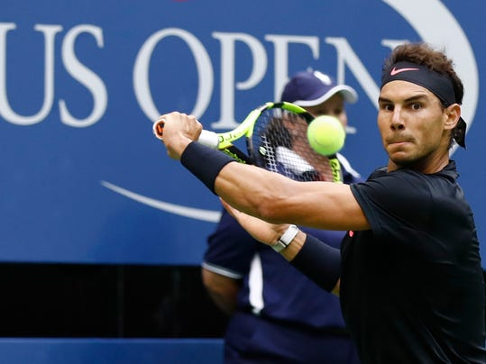 The Latest: Nadal has 2-set lead in US Open final