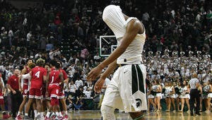 Cassius Winston and Michigan State dropped three spots to No. 9 in this week's Associated Press Top 25 college basketball poll.