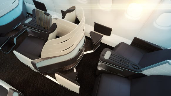 Lie flat seats coming to hawaiian airlines for International seating and decor