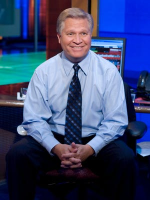Chris Mortensen, shown here in 2007, has lost weight and his hair grew back grayer after chemotherapy treatments.