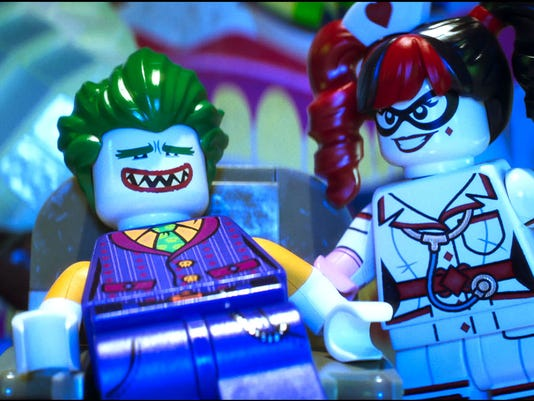 Lego Joker and Harley