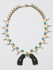 Squash Blossom Necklace by LeeAnn Herreid from the