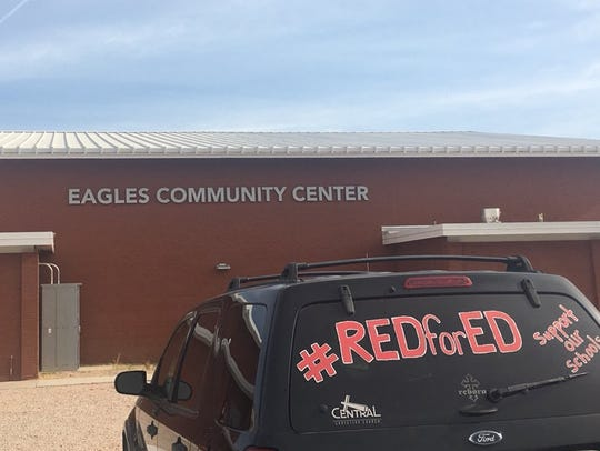 One of the four community centers open in Mesa, Eagles