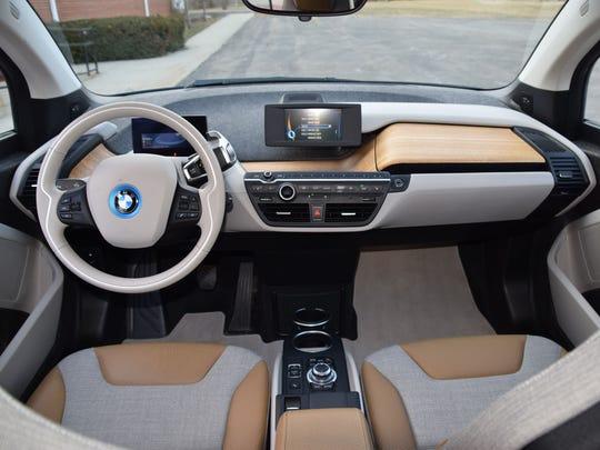 2015 BMW i3.