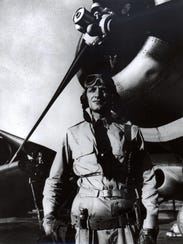 Lt. Cmdr. John Waldron is pictured while serving as commanding officer of Torpedo Squadron (VT) 8. Waldron was married to Mary Adelaide Wentworth of Pensacola.