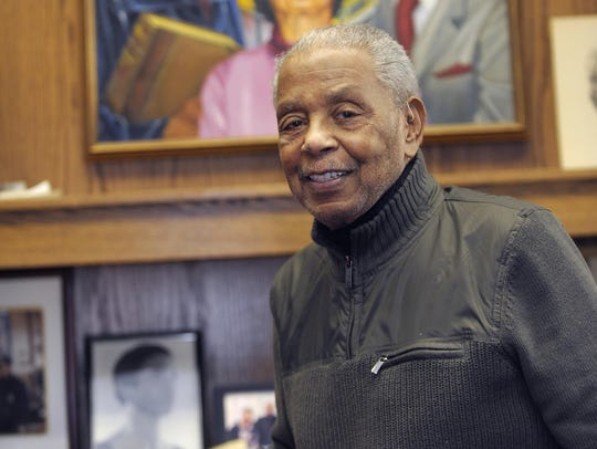 Federal Judge Damon Keith of Detroit died Sunday morning. He was 96.