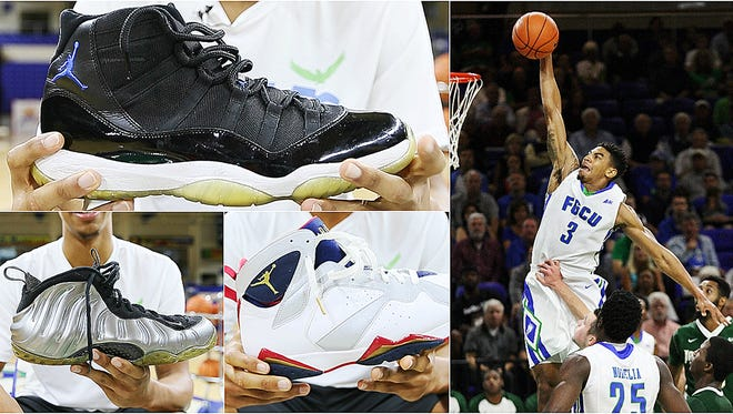 The FGCU men's basketball team has one of the best sneaker collections in the country.