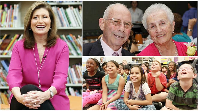 Lois Thome's parents inspired her love of reading and a lifetime of learning. Thome, a WINK News anchor in Fort Myers, Fla., shares these gifts with students.